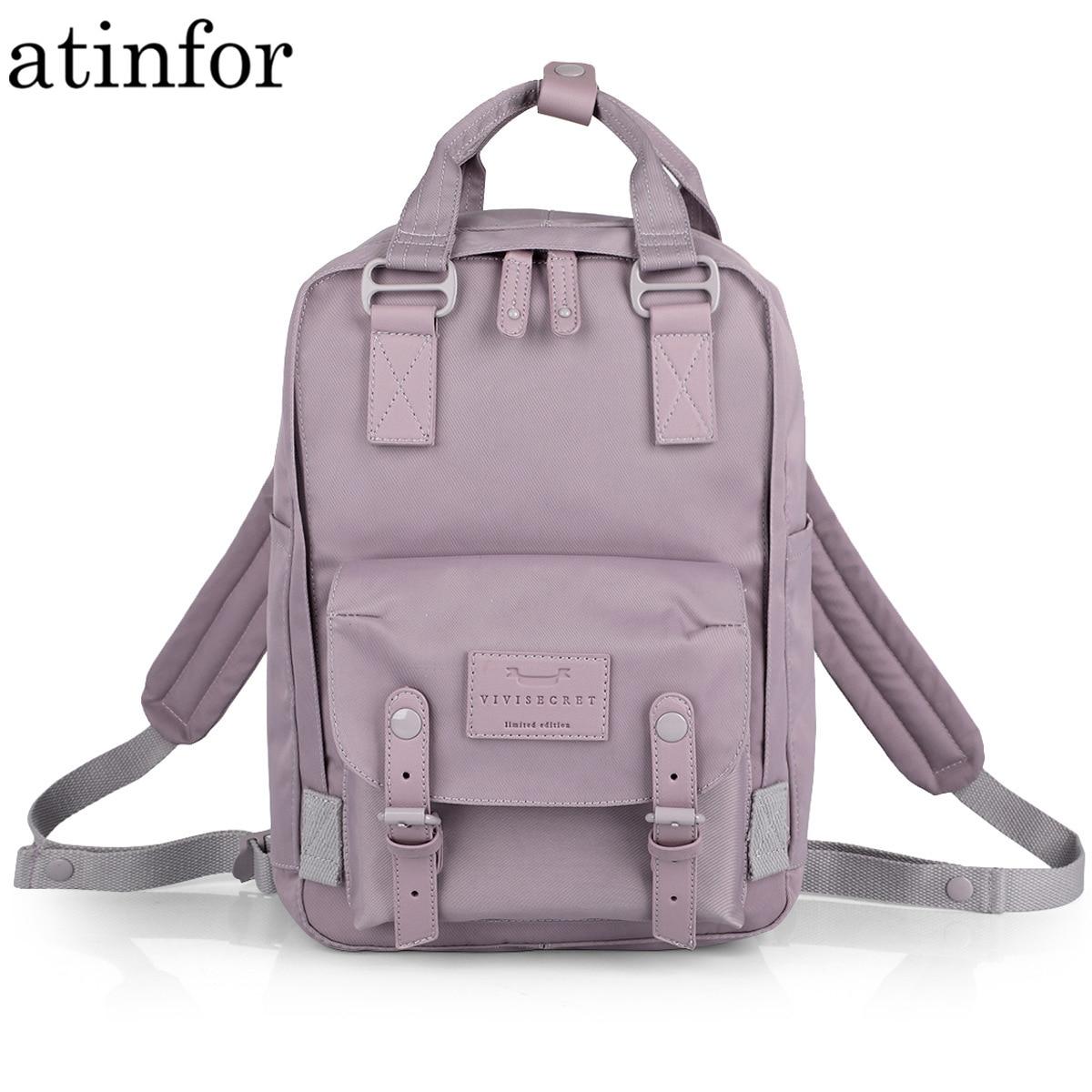 عالية الجودة مصمم لطيف مقاوم للماء حقيبة من القماش النساء اليومية حقيبة سفر الإناث حقيبة مدرسية للمراهقين Bookbag الفاخرة