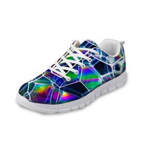 HaoYun Fashion Women's Sneaker Shoes Colorful 3D Design Girls White Flat Walking Shoes Breathable Ladies Footwear Zapatillas