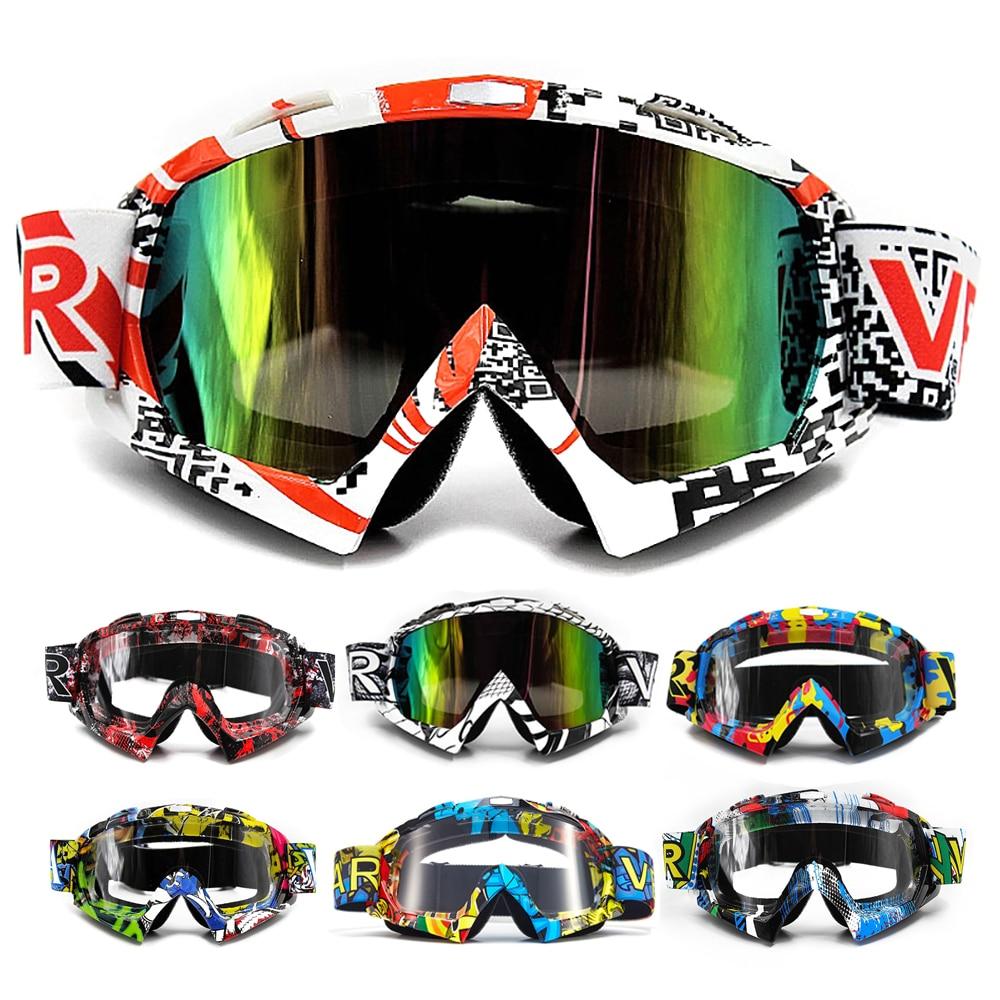 VEMAR Motorcycle Goggles Ski Glasses Motocross Goggles Eyewear Snowboard Glasses Moto Motorbike Dirt Bike Cycling Glasses