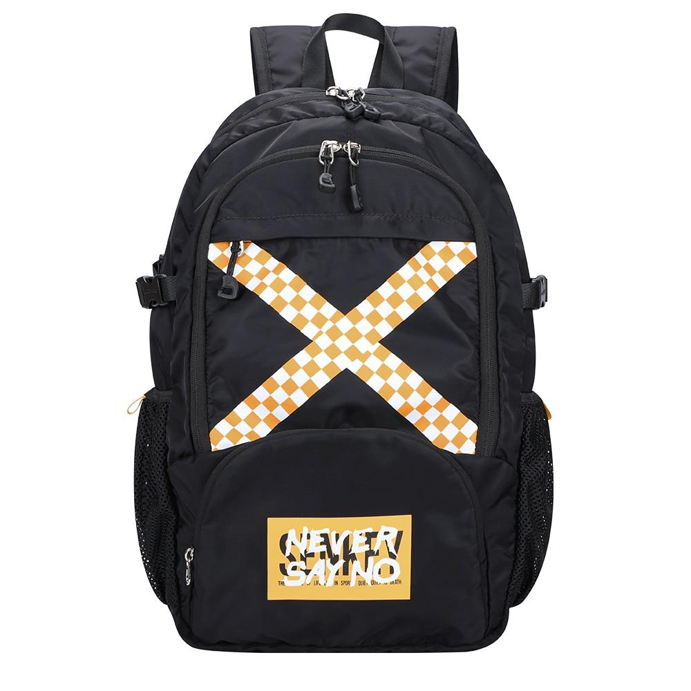 SenkeyStyle حقيبة ظهر قابلة للطي للرجال والنساء السود حقائب السفر اليومية الصيف الظهر 2021 موضة عادية مقاوم للماء سوفتباك