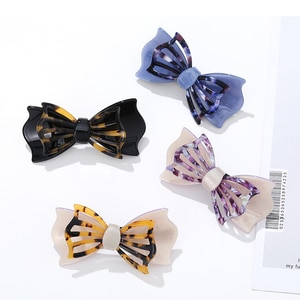 Wholesale Hair Clips for Baby Girls Bow hairpin Hollow out Fashion Barrettes Elegant Gift High Quality Hair Accessories 2020