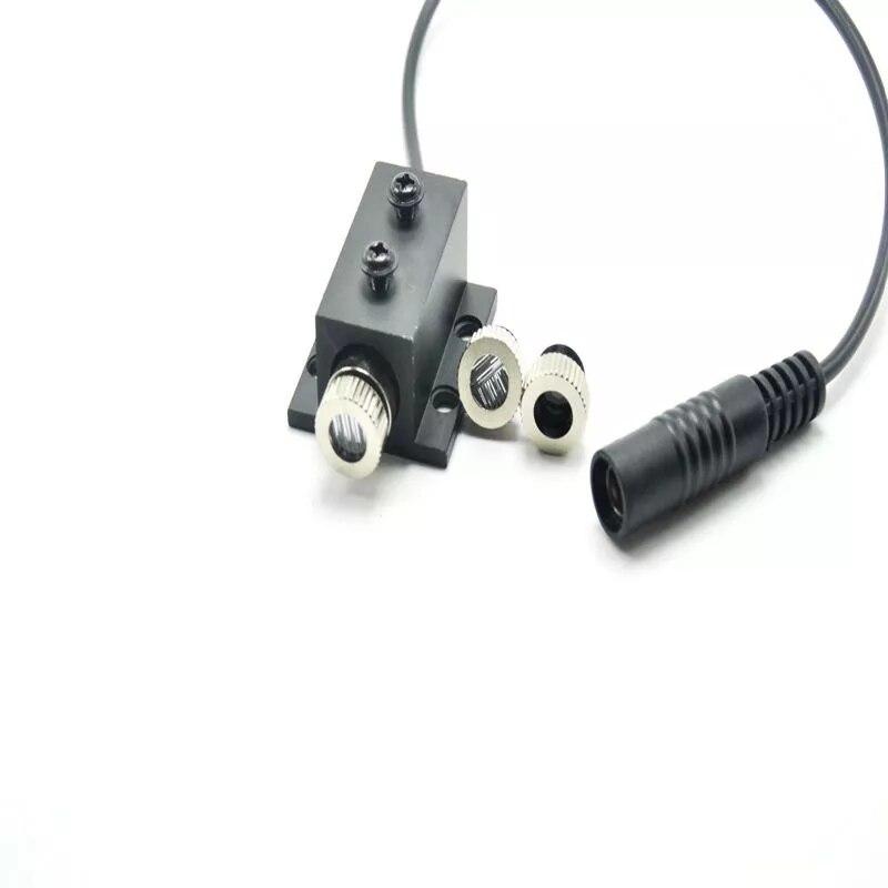 Фокусируемый точка линия крест 30 мВт 650 нм красный лазер фонари модуль w радиатор +% 26 адаптер1235
