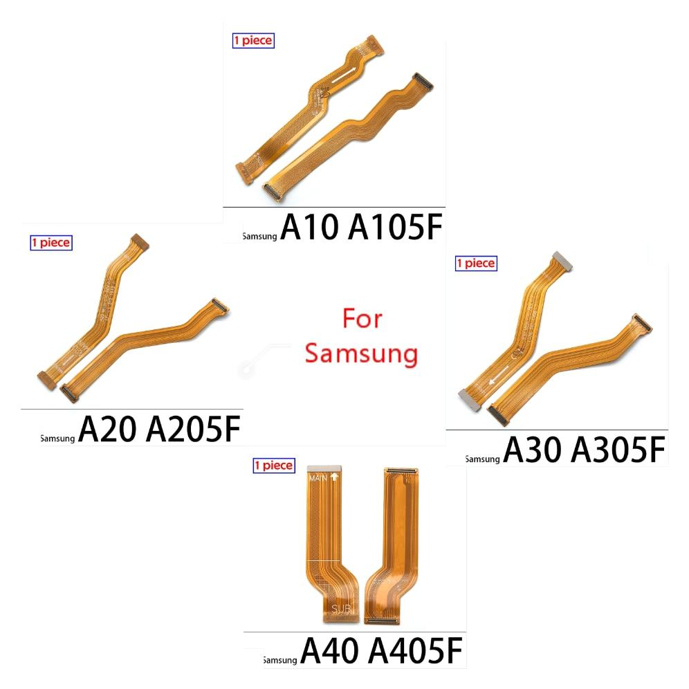 50 قطعة الرئيسية مجلس موصل استبدال جزء لسامسونج A10 A20 A30 A40 A50 A60 A70 A80 A90 اللوحة موصل الكابلات المرنة