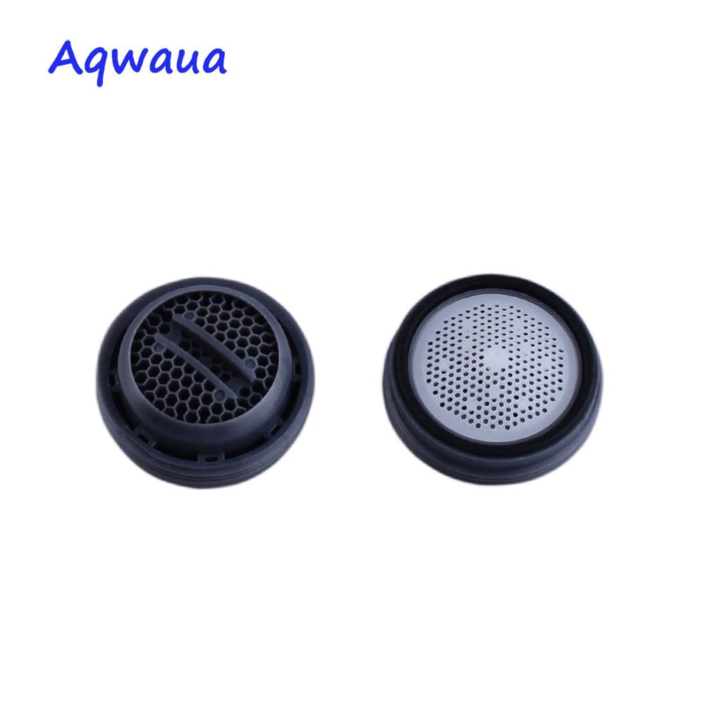 Aireador de grifo Aqwaua, rosca macho de 24MM, accesorios de filtro de boca de burbujeador ultradelgado para grúa, aireador de monedas con núcleo oculto