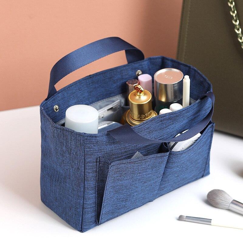 Bolsa informal para cosméticos, bolsa de aseo de viaje, Neceser, bolsa Neceser