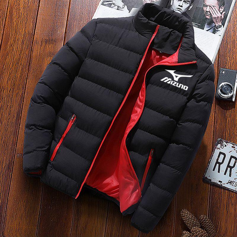 aliexpress.com - Men's Winter Jacket Cotton Coat Long Sleeve Baseball Jacket Windbreaker Mizuron Zipper Windbreaker Lined Plush Jacket Men's Coat