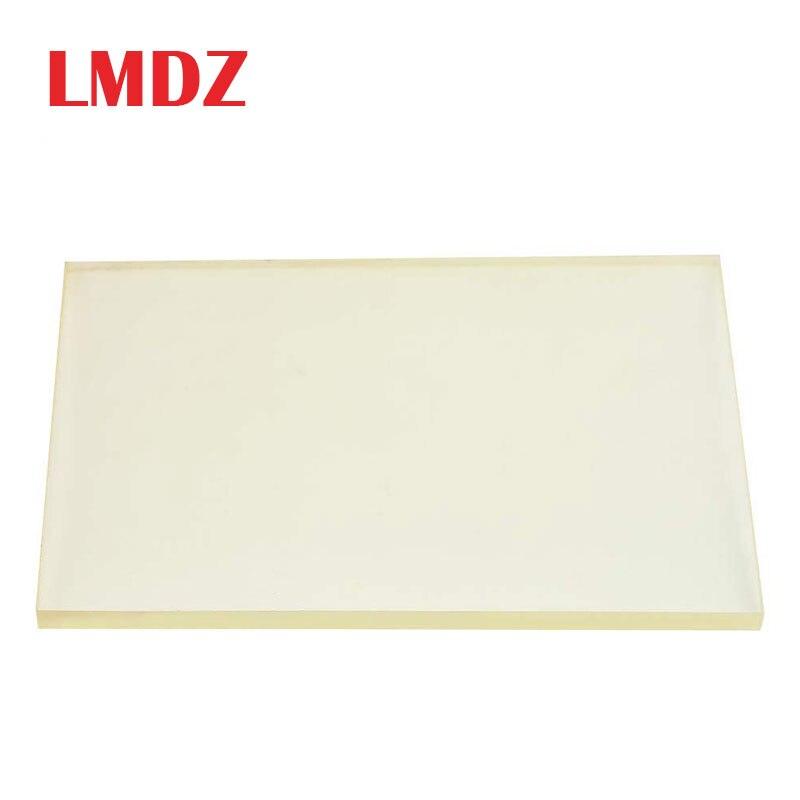 Lmdz Vierkante Rundvlees Pees Plaat Elastische Rubber Stansmachine Plaat Elastische Rubber Diy Leather Craft Gereedschap 20*15*0.8 Cm
