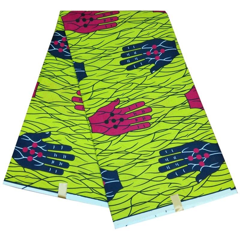 Высококачественная полиэфирная ткань, новая 2020 pagne африканская восковая ткань, горячая распродажа, дизайн для женщин, платье, воск африканс...