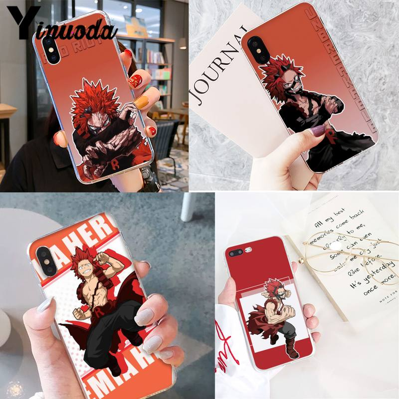 Yinuoda Boku No Yaoi personalizado estuche para teléfono suave para iPhone 8 7 6 6S Plus X XS X MAX 5 5S SE XR 11 11pro promax