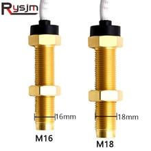 1 Piece Diesel Engine Tachometer Sensor M16 M18 Marine Car Motor Boat Tacho meter RPM gauge