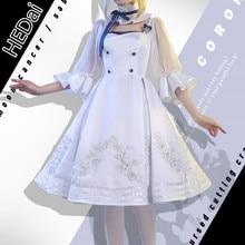 FGO Saber Altria Arutoria Pendoragon Moon Cancer Girlfriend женский костюм для косплея белое платье комплекты одежды