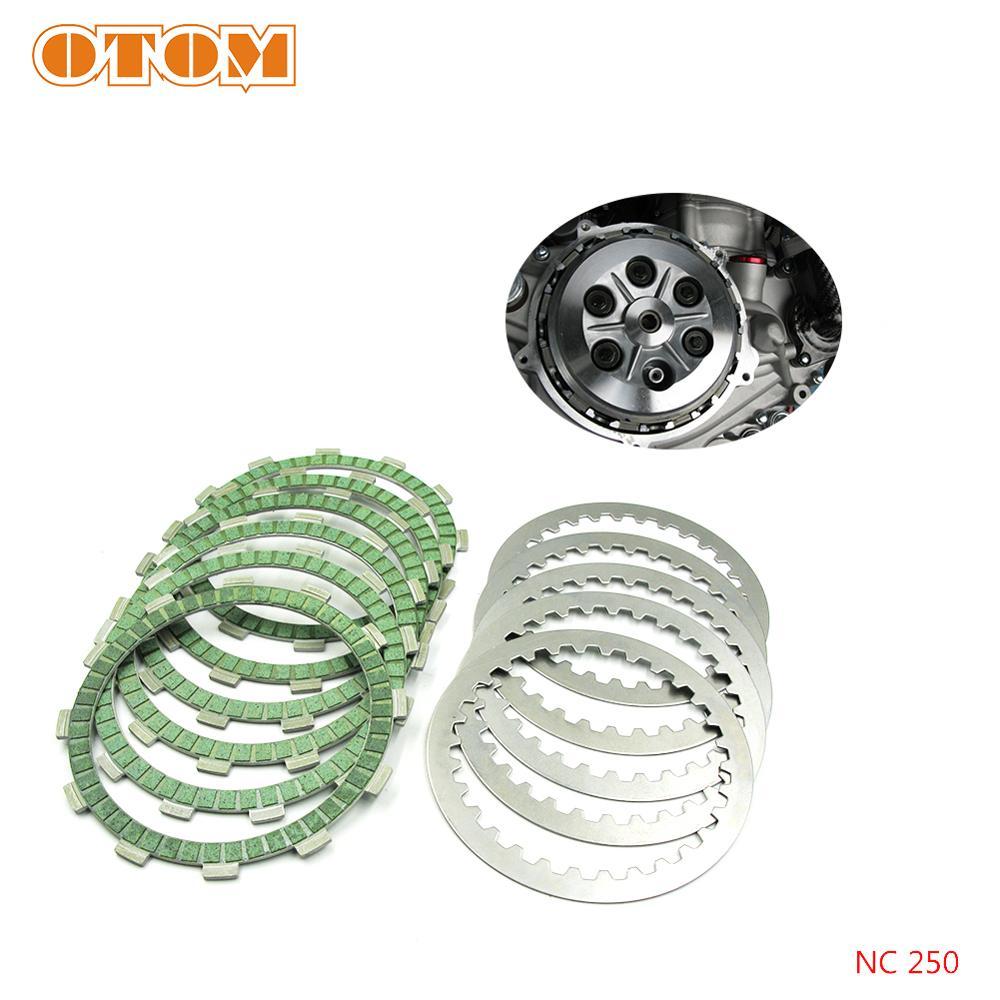 OTOM мотоциклетные стальные фрикционные диски диск Набор для ZONGSHEN NC250 NC450 KAYO T6 K6 BSE J5 RX3 ZS250GY/450GY-3 4 клапана