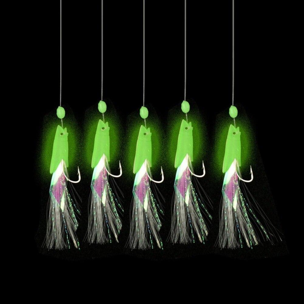 Souple pêche leurre plates-formes lumineux leurre poisson tête chaîne crochet 2020 nouvelles offres spéciales livraison directe