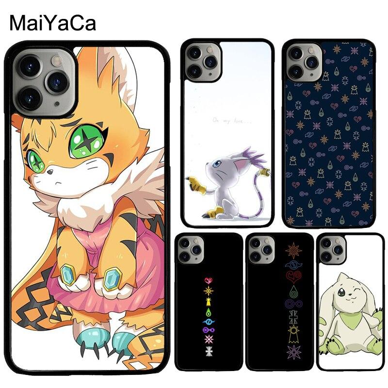 Чехол MaiYaCa Digimon Digi Crests для iphone X XR XS MAX 11 Pro Max SE 2020 6S 7 8 Plus 5S