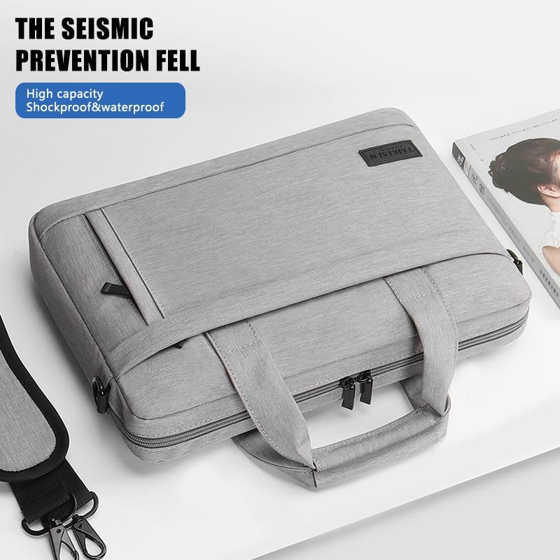 Laptop bag Sleeve Case Protective Shoulder Bag HP Carrying Case For pro13 14 15.6 inch Macbook Air ASUS Acer Lenovo Dell handbag