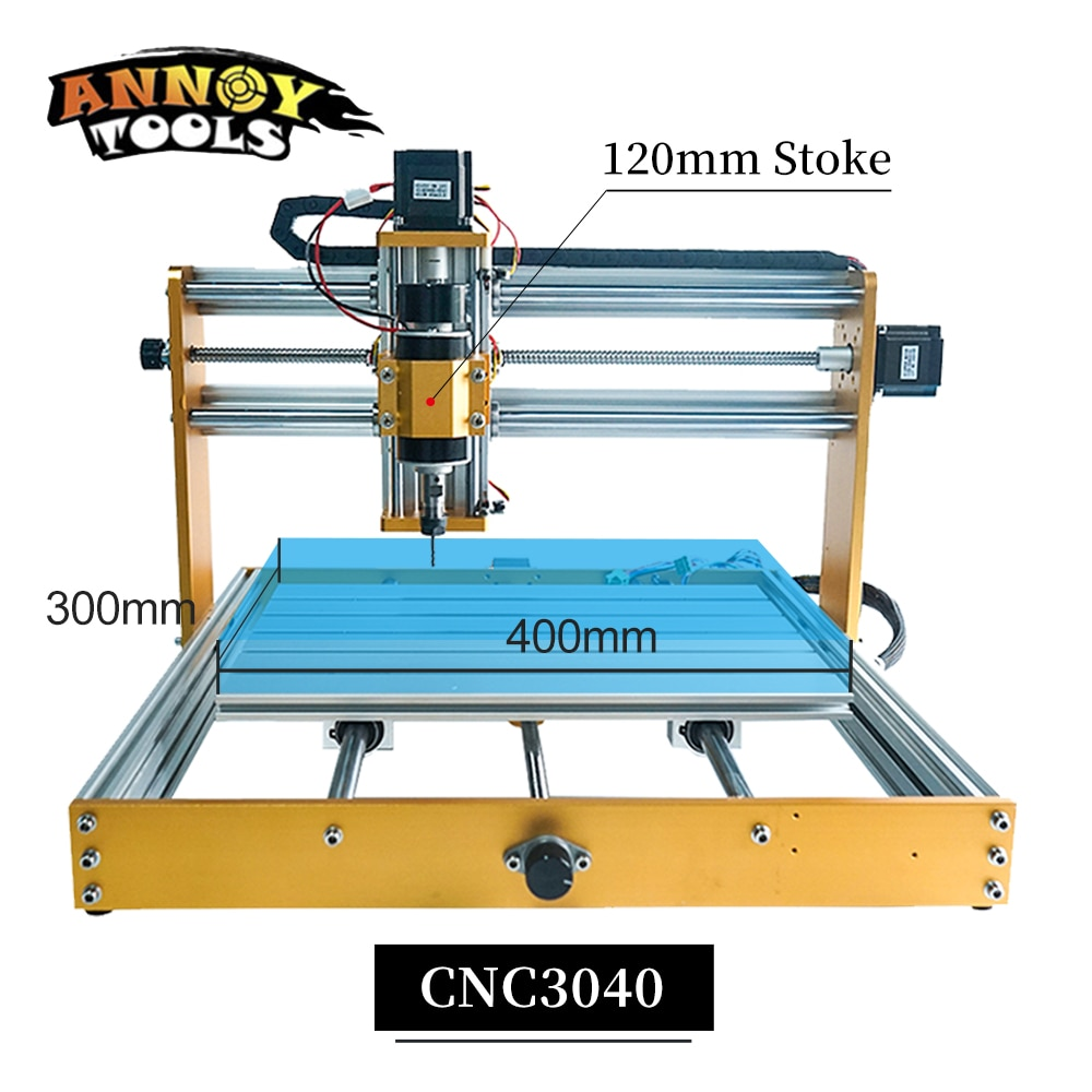 CNC3040 Milling Machine update CNC3018 Engraving Machine CNC Router support 500W Spindle Laser Engraver GRBL1.1 for Wood PCB PVC