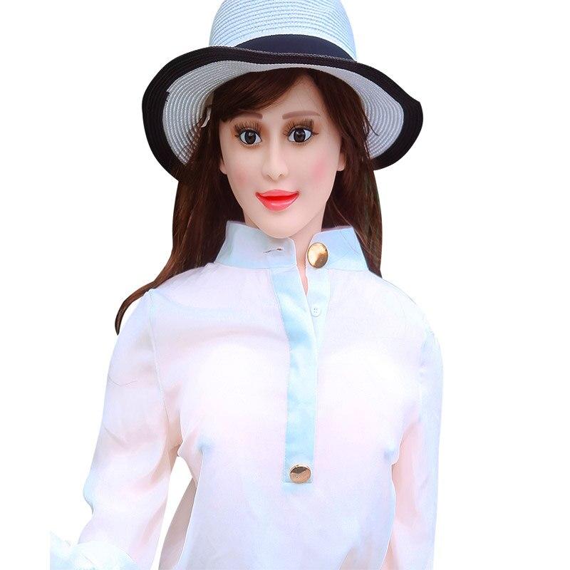 155cm Inflatable Sex Doll Masturbator For Men Sex Toys Shop Sit/Stand Realistic Porn Sex Faloimitator Blow Up Real Rubber Woman