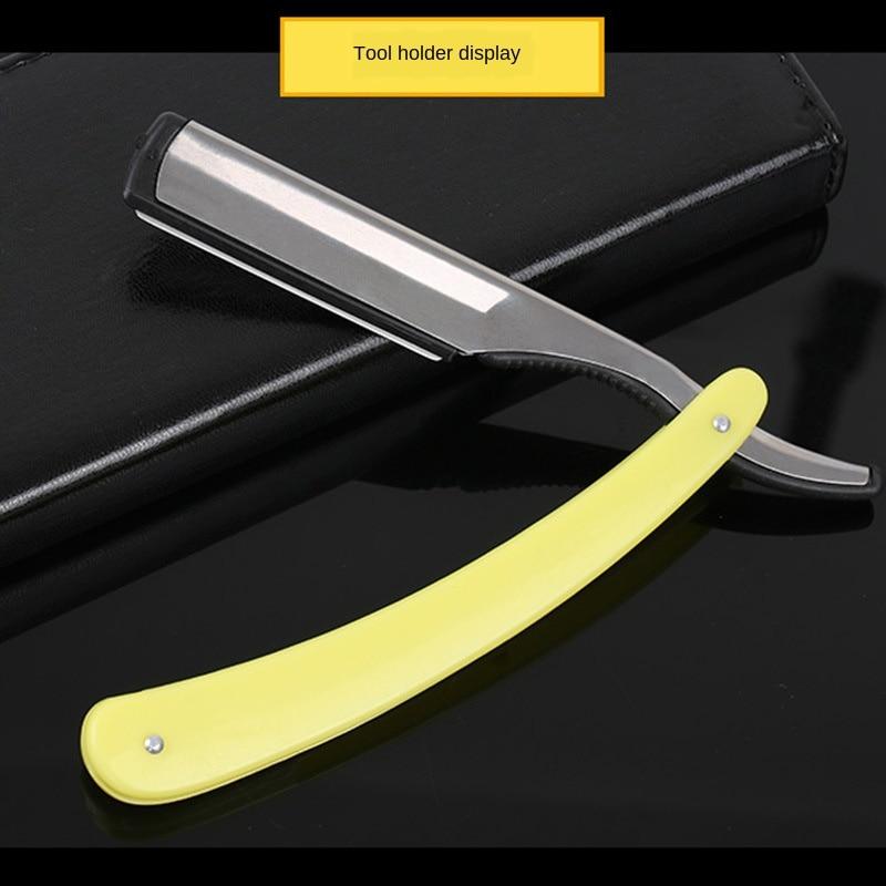 Haar Rasiermesser Manuelle Alte-fashioned Rasierklinge Halter Friseur Rasieren Klinge Männer Rasieren Barber Werkzeug G0216