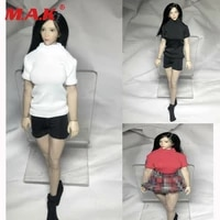 112 seamless t shirt short pants fit 6 female tbleague figure body toy in stock
