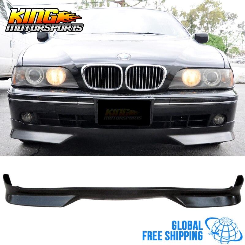 Подходит для 01 02 03 BMW E39 525 530 540 вагон, Седан 4Dr передний бампер, спойлер, глобальная бесплатная доставка по всему миру