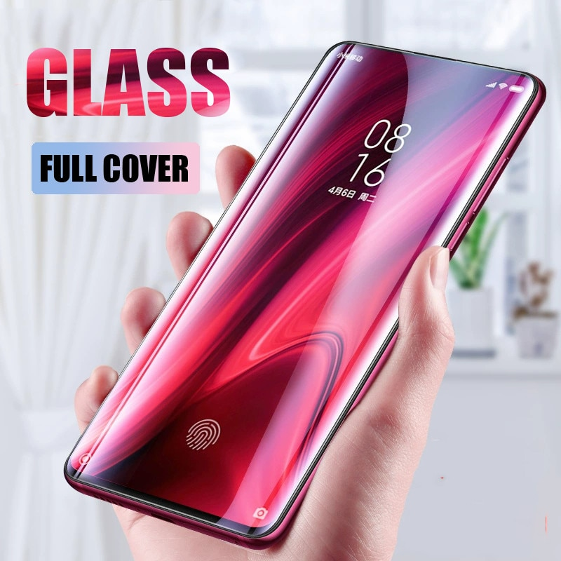 Funda completa templada de cristal para Xiaomi mi A2 A3 Lite 6X película protectora de pantalla para Xiaomi mi 9x9 t 9se cc9 cc9e Play Glass