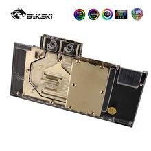 Bykski GPU Wasser Block Full Coverage Block Für ASUS GTX1080TI 1080 1070 VGA Watercooler Kühlkörper MOD 5V A-RGB N-AS1080TI STRIX-X