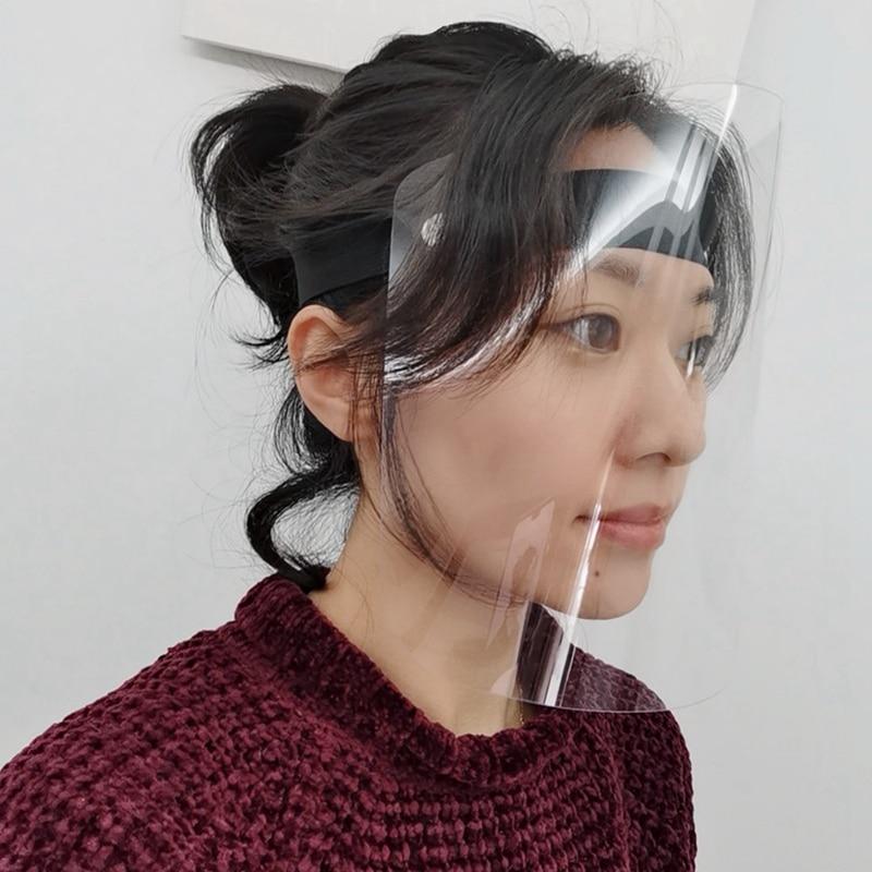 Прозрачная маска для питания специальная гигиена еды пластиковая Кухня Улыбка Ресторан Анти-туман спрей слюна шеф-повара
