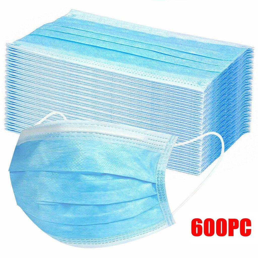 600 PCMask for face Women Adults Men Disposable Face Mask fashion Mondmasker Masque De Protection Mascarillas Desechables Masks