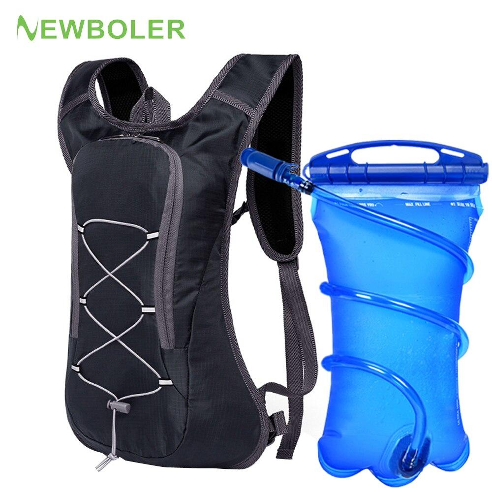 Mochila transpirable ultraligera para bicicleta, chaleco para correr, bolsa para ciclismo, Maratón, mochila de hidratación portátil, opción 3L, vejiga de agua