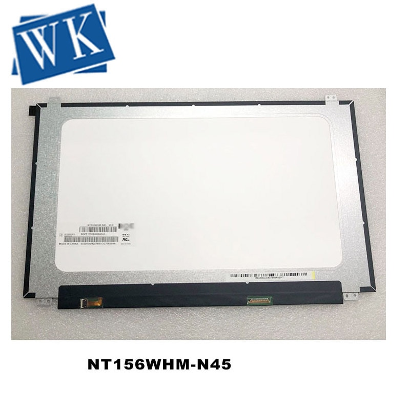 ل بنك انجلترا NT156WHM N45 V8.0 V8.1 V8.2 350 مللي متر fru 5D10M42874 NT156WHM N45 30Pin HD 1366X768 شاشة الكريستال السائل استبدال
