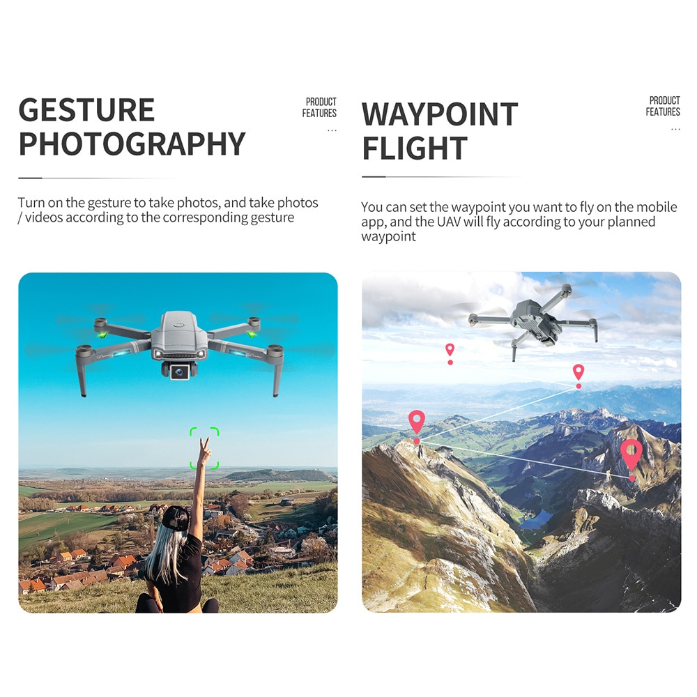 2021 Mini GPS S179 Drone Dual Camera RC Quadcopter Foldable Aircraft Remote Control Brushless Helicopter enlarge