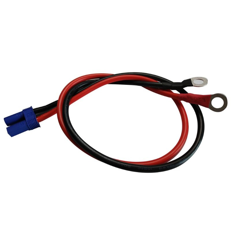EC5 a O anillo Terminal 10AWG EC5 conector de enchufe hembra Cable para RC ESC cargador de potencia, lado-50cm/1.6ft
