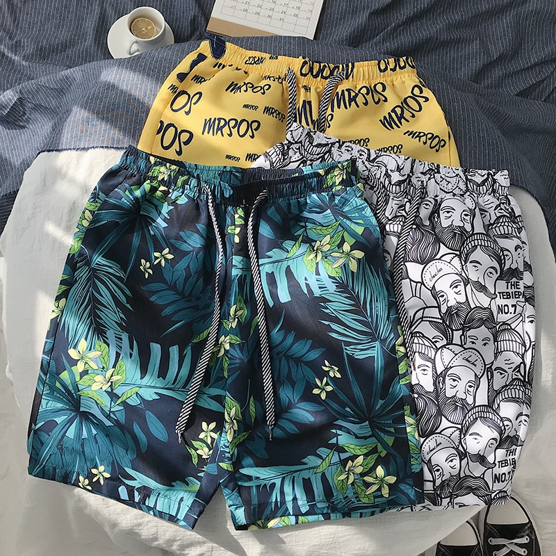 iiDossan Simple Summer Shorts Men 2020 Trunks Beach Board Shorts Holiday Mens GYM Casual Short Pants Sports Surfing Shorts