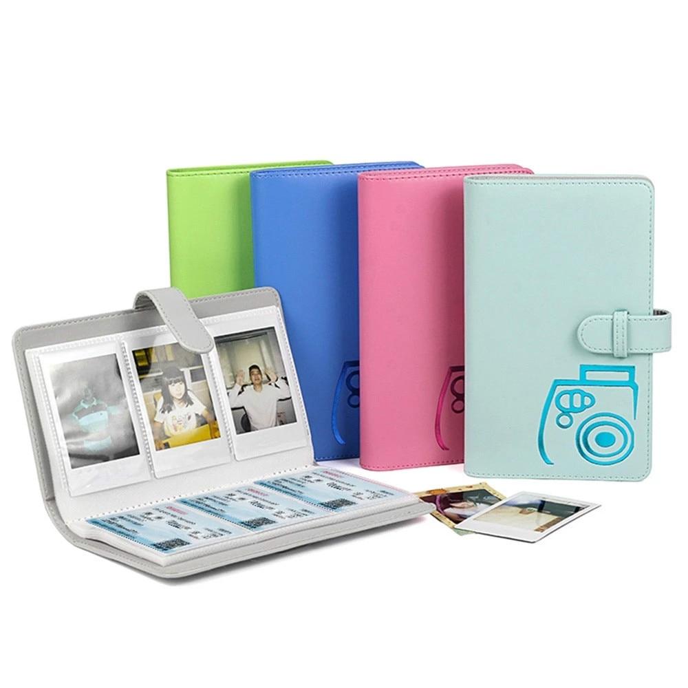 Fujifilm-álbum de fotos Instax Mini, álbum de fotos con 96 bolsillos, 3...