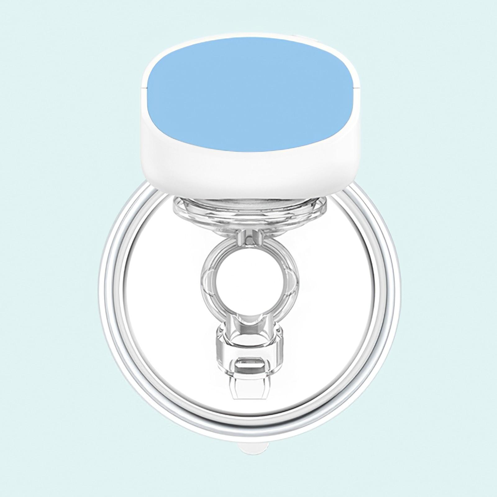 800mah Wearable Breastfeeding Pump Milk Container Nontoxic PP Milk Pump 5 Gears Milk Sucker For Pregnant Women Mothers Outdoors