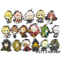 fate apocrypha rubber mascot pendant alter mordred%c2%a0astolfo%c2%a0karuna sieg chiron%c2%a0mordred anime accessories phone strap keychain