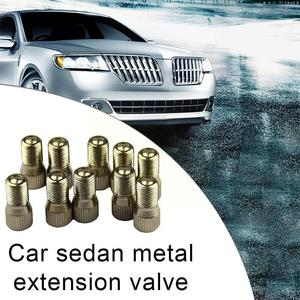 New 39mm Tire Valve Extension Screw On Valve Stem Extender Replacement Valve Adapter Durable Extension Rod Waterproof I5F7
