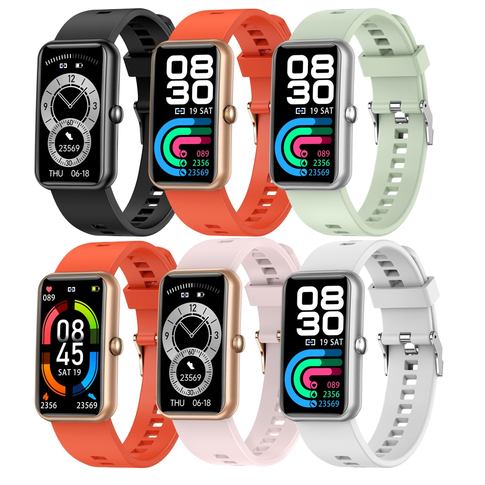 Women Smart Watch For Huawei Phone New Smart Bracelet Exercise Men Watches Blood Pressure Heart Rate