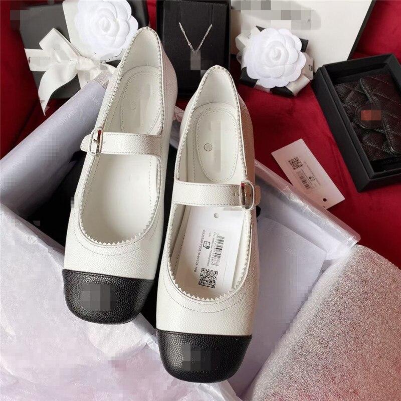 IPPEUM Zapatos Planos de diseño de marca de lujo para mujer de...