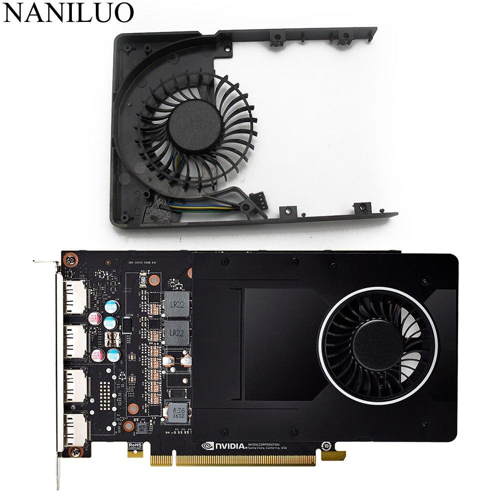 Новый DC12V 0.43A для LEADTEK Quadro P2000 5GB MGT7012YB-W20 HF графика охлаждение для видеокарты вентилятор