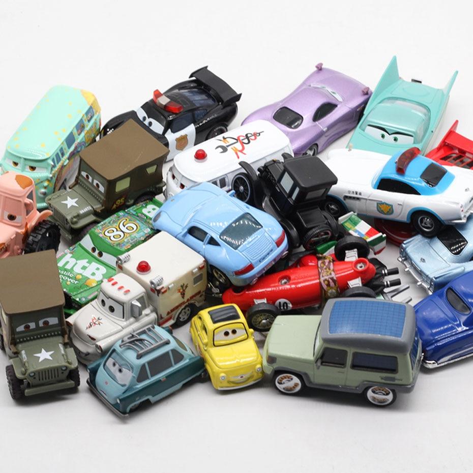 Coche Disney Pixar racing 23 tipos de coches de fundición a presión de aleación de metal para niños juguetes para niños regalos de Navidad y cumpleaños