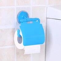 Ventouse murale porte-papier hygienique  support a mouchoirs en plastique  rouleau de toilette  plateau a serviettes en papier  organisateur de salle de bains