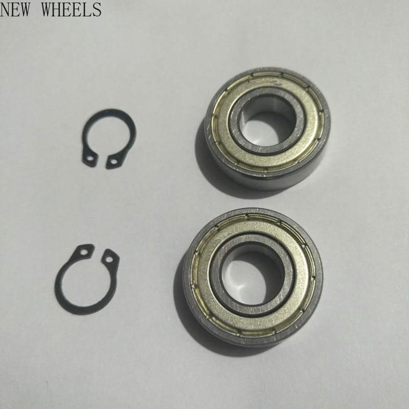 M365 детали для электрического скутера, подшипник заднего колеса, металлический пылезащитный кожух, ось, кольцевая задняя часть колеса, ремон...