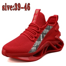 Explosive men's sports running shoes, outdoor leisure sports blade shoes, four seasons trend flying