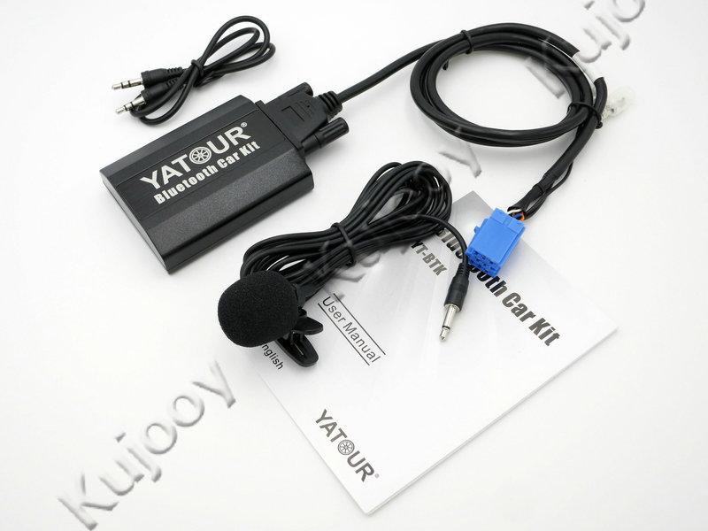 Yatour BTK Bluetooth Car Kit Digital Music CD Changer 8Pin Switch Connector For Fiat Alfa Romeo Lancia Blaupunkt Radios