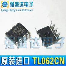 100% New&original  TL062CN TL062 DIP-8 Two-way Op Amplifier JFET Input