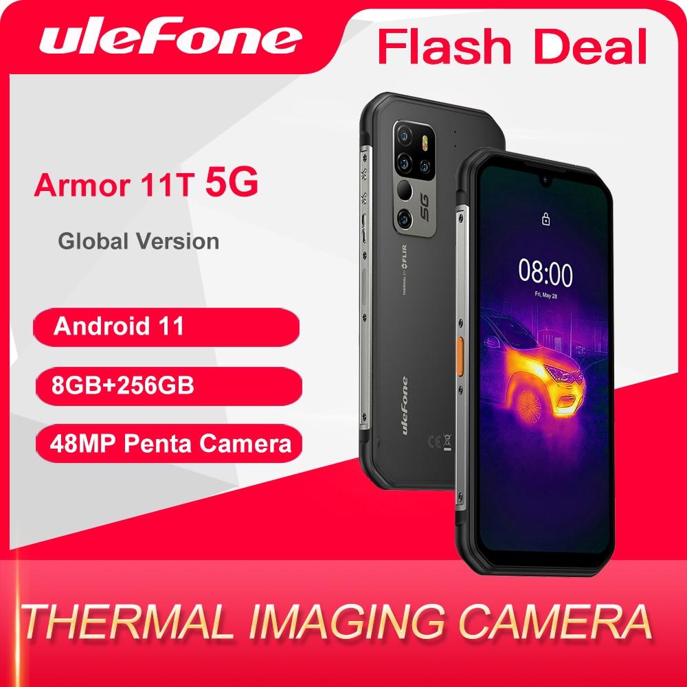 Перейти на Алиэкспресс и купить Ulefone power до 11 ти лет 5G FLIR®Термальность изображений Камера прочный мобильный телефон Android 11 8GB 256GB смартфон Водонепроницаемый мобильный телефо...