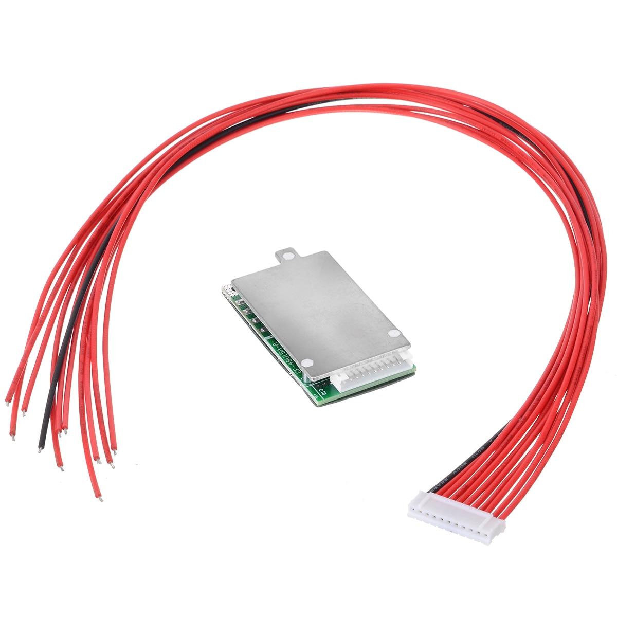 Литий-ионный аккумулятор Mayitr, 1 шт., 10 S, 36 В, 37 в, 15 А, BMS, PCB, PCM, подходит для электровелосипеда
