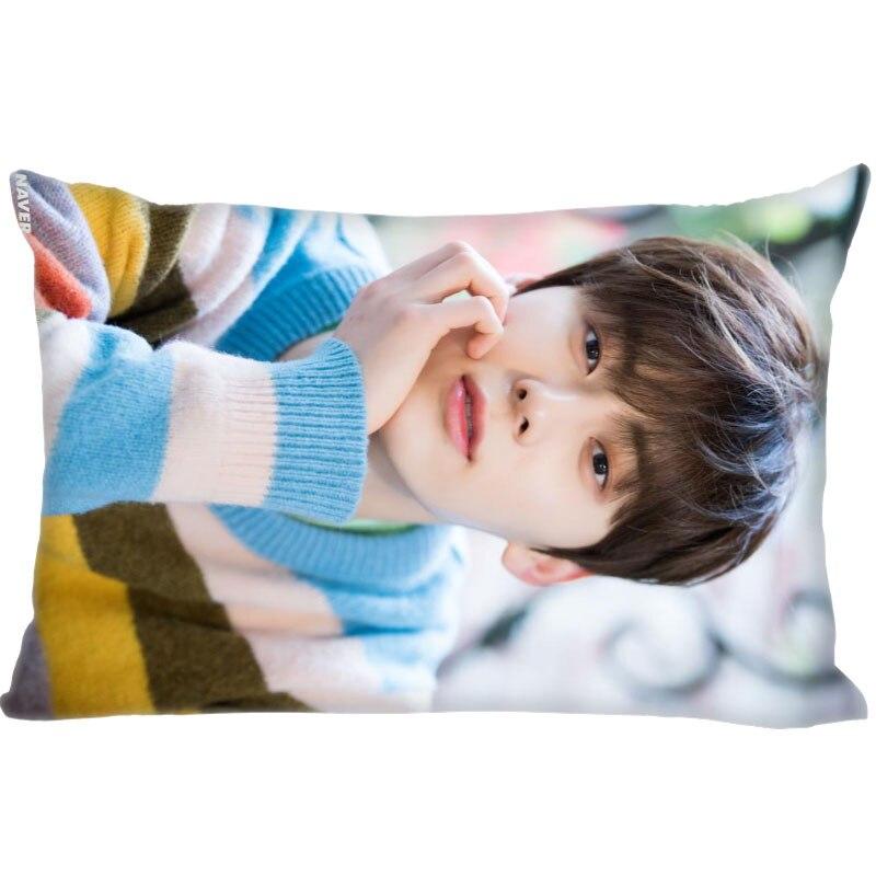 Hot Sale Custom Hwang Min Hyun Slips Rectangle Pillow Covers Bedding Comfortable Cushion/High Quality Cases 45x35cm