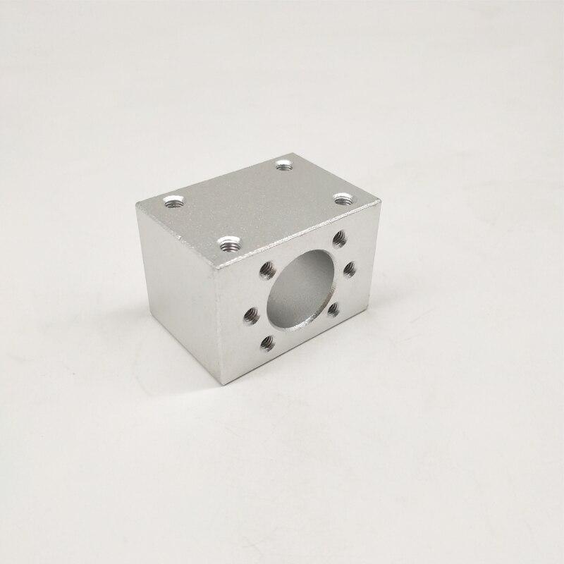1 pc sfu3205 ballscrew porca habitação habitação para 3205 3210 32mm porca de parafuso da esfera suporte peças cnc